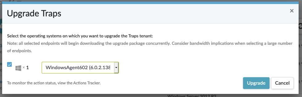 Traps Management Service.