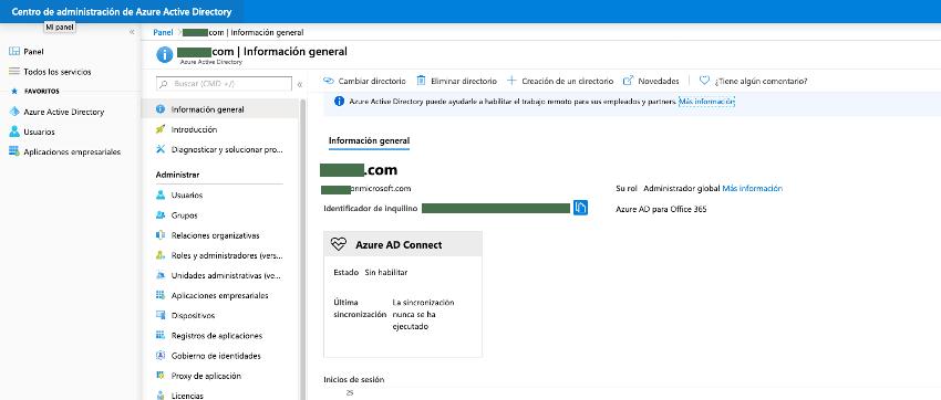 Azure AD ¿Qué es? Centro ade Administración de Azure Active Directory