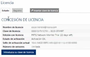 PRTG Network Monitor licenciamiento