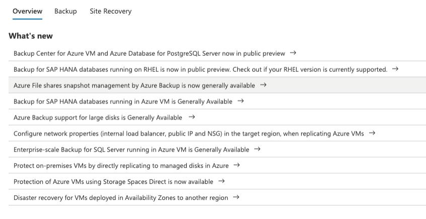 Ncora - Azure Backup 2