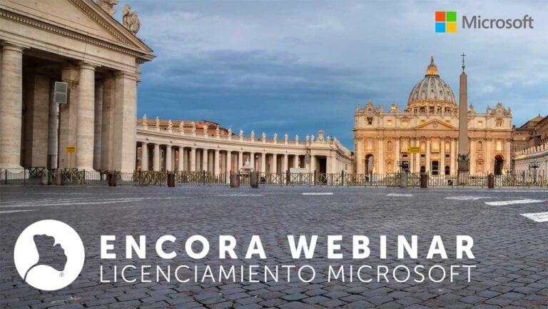 Encora Webinar licenciamiento Microsoft