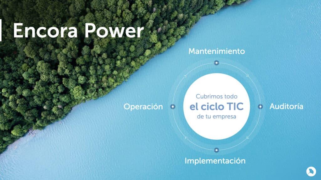 Encora Power cubre todo el ciclo TIC de tu empresa
